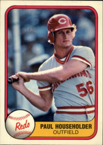 Photo of 1981 Fleer #217 Paul Householder RC