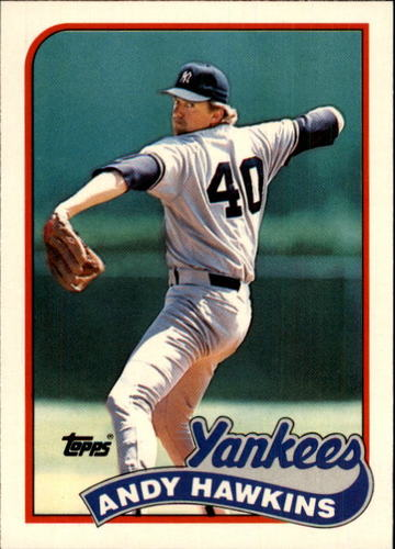 Photo of 1989 Topps Traded #47T Andy Hawkins