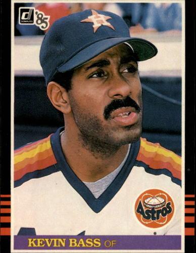 Photo of 1985 Donruss #136 Kevin Bass