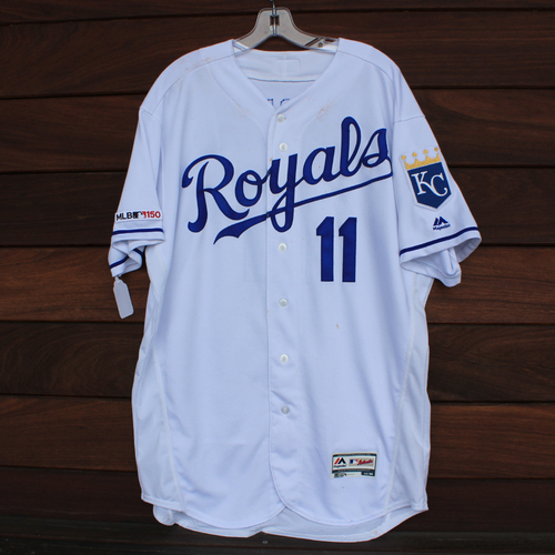 Photo of Game-Used Jersey: Bubba Starling (STL @ KC - 8/14/19)