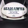 PCF - Seahawks Jacob Martin Signed Panel Ball with Seahawks Logo