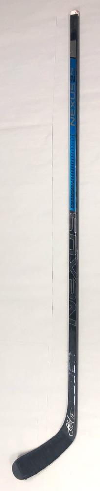 #19 Dougie Hamilton Game Used Stick - Autographed - Carolina Hurricanes
