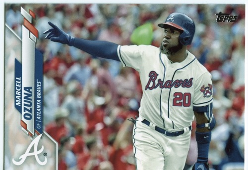 Photo of 2020 Topps #537 Marcell Ozuna