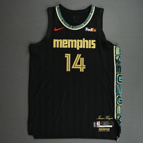 Image of Gorgui Dieng - Memphis Grizzlies - Game-Worn City Edition Jersey - 2020-21 NBA Season