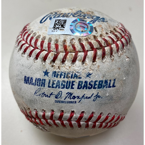 Photo of Game-Used Baseball: Miguel Cabrera Detroit Tigers RBI Sac Fly (MLB AUTHENTICATED)