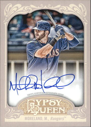 Photo of 2012 Topps Gypsy Queen Autographs #MMO Mitch Moreland