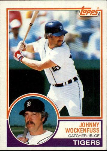 Photo of 1983 Topps #536 John Wockenfuss