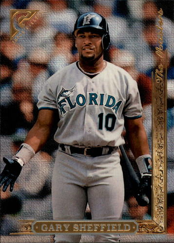 Photo of 1996 Topps Gallery #177 Gary Sheffield