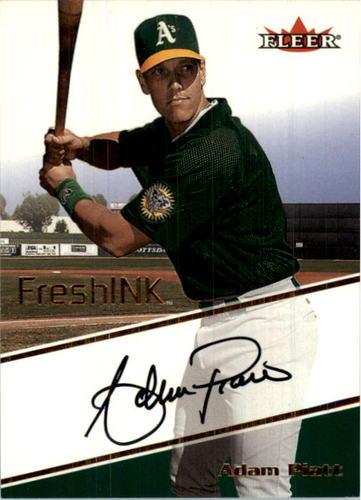 Photo of 2000 Fleer Focus Fresh Ink #40 Adam Piatt