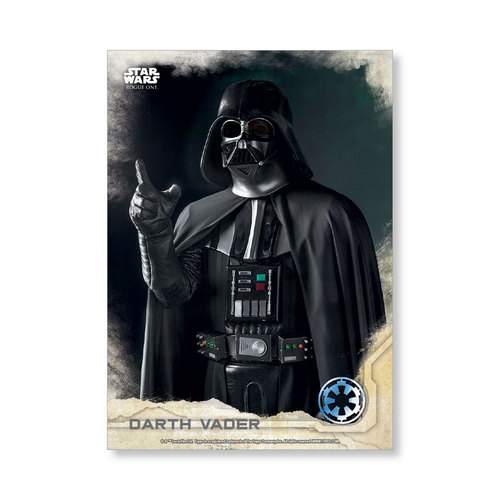 Darth Vader 2016 Star Wars Rogue One Series One Base Poster - # to 99