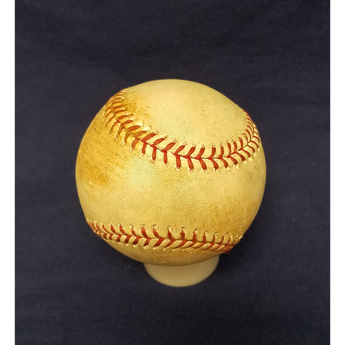 Game-Used Baseball: Mike Trout Single from August 30th 2017 v Oakland Athletics
