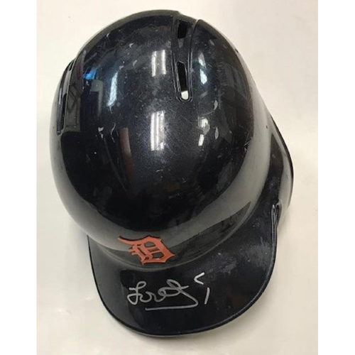 Photo of Autographed Jose Iglesias Road Helmet