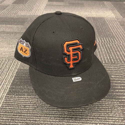 Photo of 2017 Game Used Spring Training Cap - worn by #13 Will Smith - Size 7 3/4