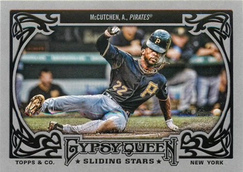 Photo of 2013 Topps Gypsy Queen Sliding Stars #AM Andrew McCutchen
