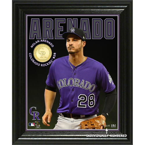 Photo of Nolan Arenado Elite Series Bronze Coin Photo Mint