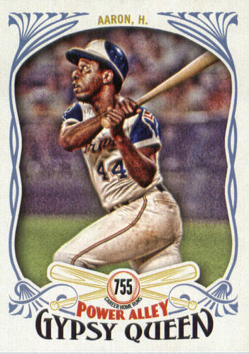 Photo of 2016 Topps Gypsy Queen Power Alley #PA27 Hank Aaron