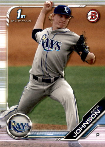 Photo of 2019 Bowman Draft #BD90 Seth Johnson