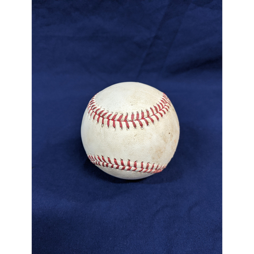 Photo of Los Angeles Dodgers Game-Used Baseball: Pitcher: Walker Buehler, Batter: Sam Hilliard (Pop Out) - Top 2 - 9/21/19, vs. COL