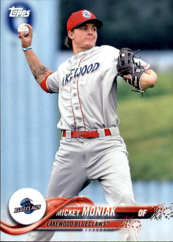 Photo of 2018 Topps Pro Debut #166 Mickey Moniak