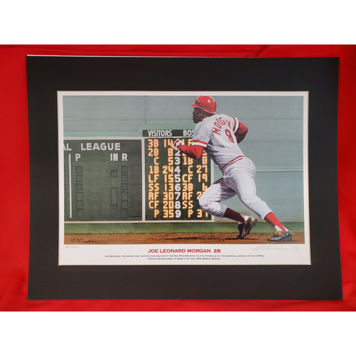 Photo of Joe Morgan Print by Bill Purdom