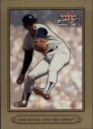Photo of 2002 Fleer Fall Classics #31 Goose Gossage