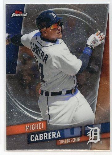 Photo of 2019 Finest #14 Miguel Cabrera