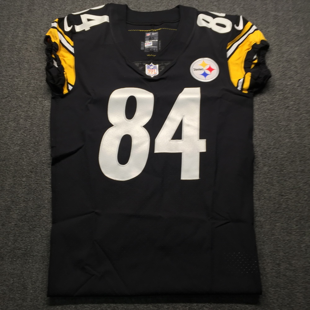 NFL Auction | Crucial Catch - Steelers Antonio Brown Game issued ...