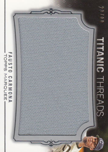 Photo of 2011 Topps Marquee Titanic Threads #TTJR113 Fausto Carmona