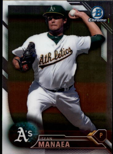 Photo of 2016 Bowman Chrome Prospects #BCP130 Sean Manaea
