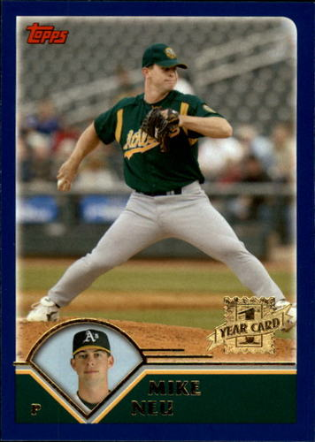 Photo of 2003 Topps Traded #T275 Mike Neu FY RC