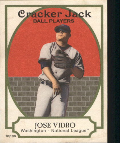 Photo of 2005 Topps Cracker Jack Mini Red #16 Jose Vidro