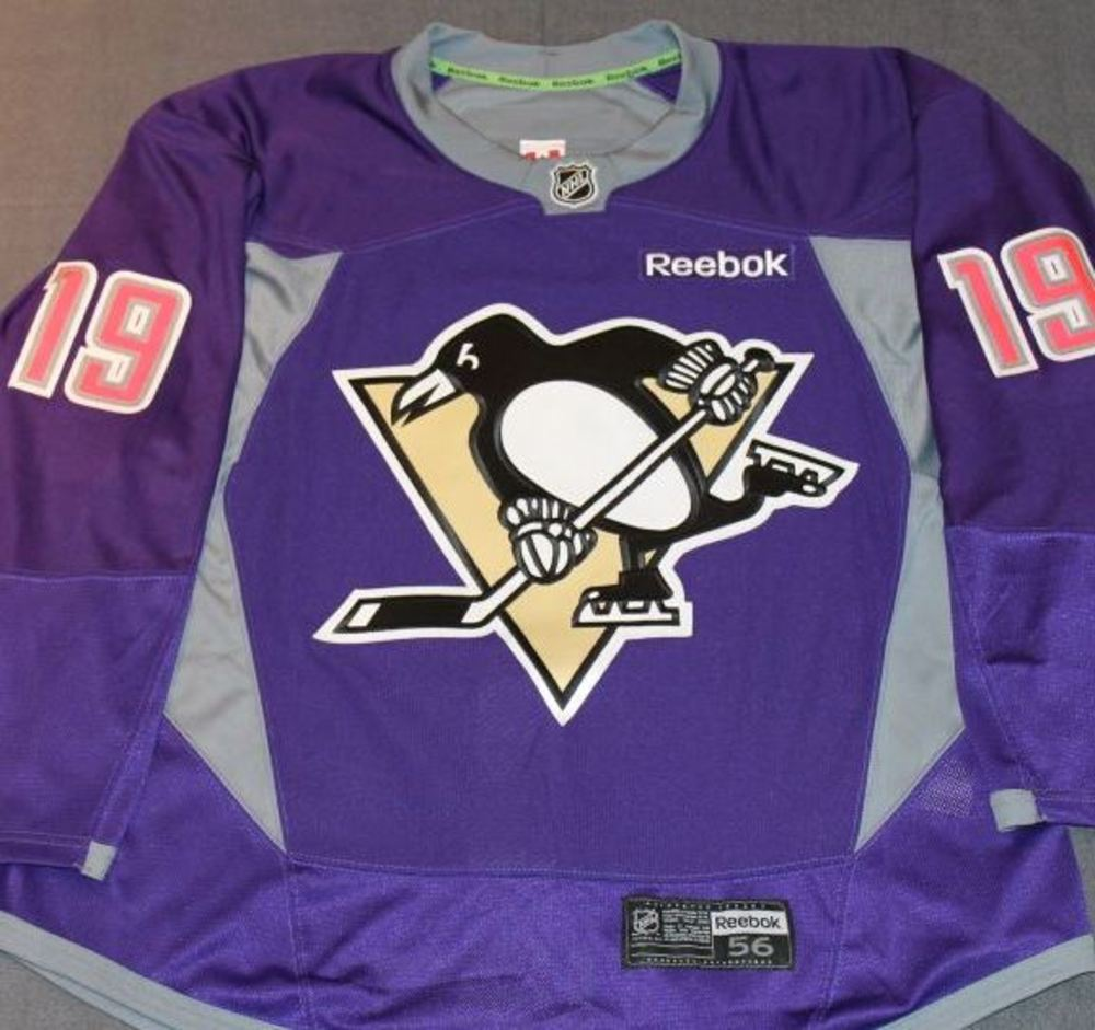 huge discount d43bb b44ee pittsburgh penguins purple jersey