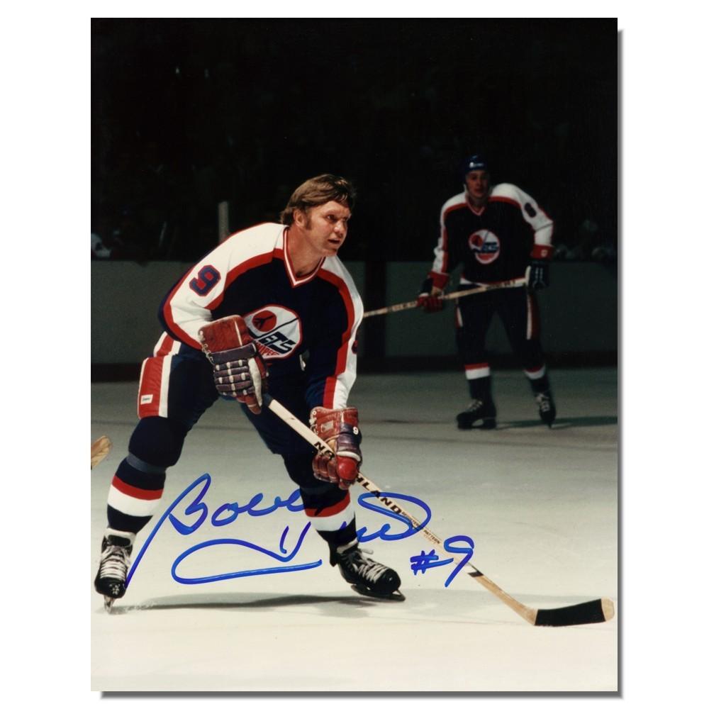 Bobby Hull Autographed Winnipeg Jets 8x10 Photo