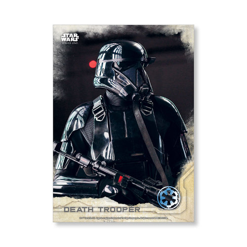 Death Trooper 2016 Star Wars Rogue One Series One Base Poster - # to 99