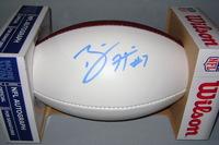 NFL - PACKERS BRETT HUNDLEY SIGNED PANEL BALL