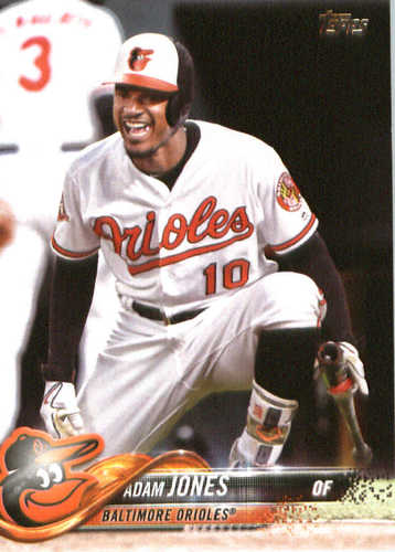 Photo of 2018 Topps #142 Adam Jones