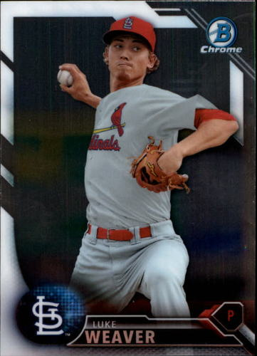 Photo of 2016 Bowman Chrome Prospects #BCP141 Luke Weaver