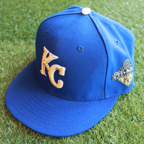 Photo of Game-Used Cap: Chien-Ming Wang (Size 7 1/4 - TEX @ KC - 7/22/16)