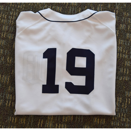 Photo of Final Game at Tiger Stadium Erik Hiljus Game Worn #19 Jersey (PSA) (Not MLB Authenticated)