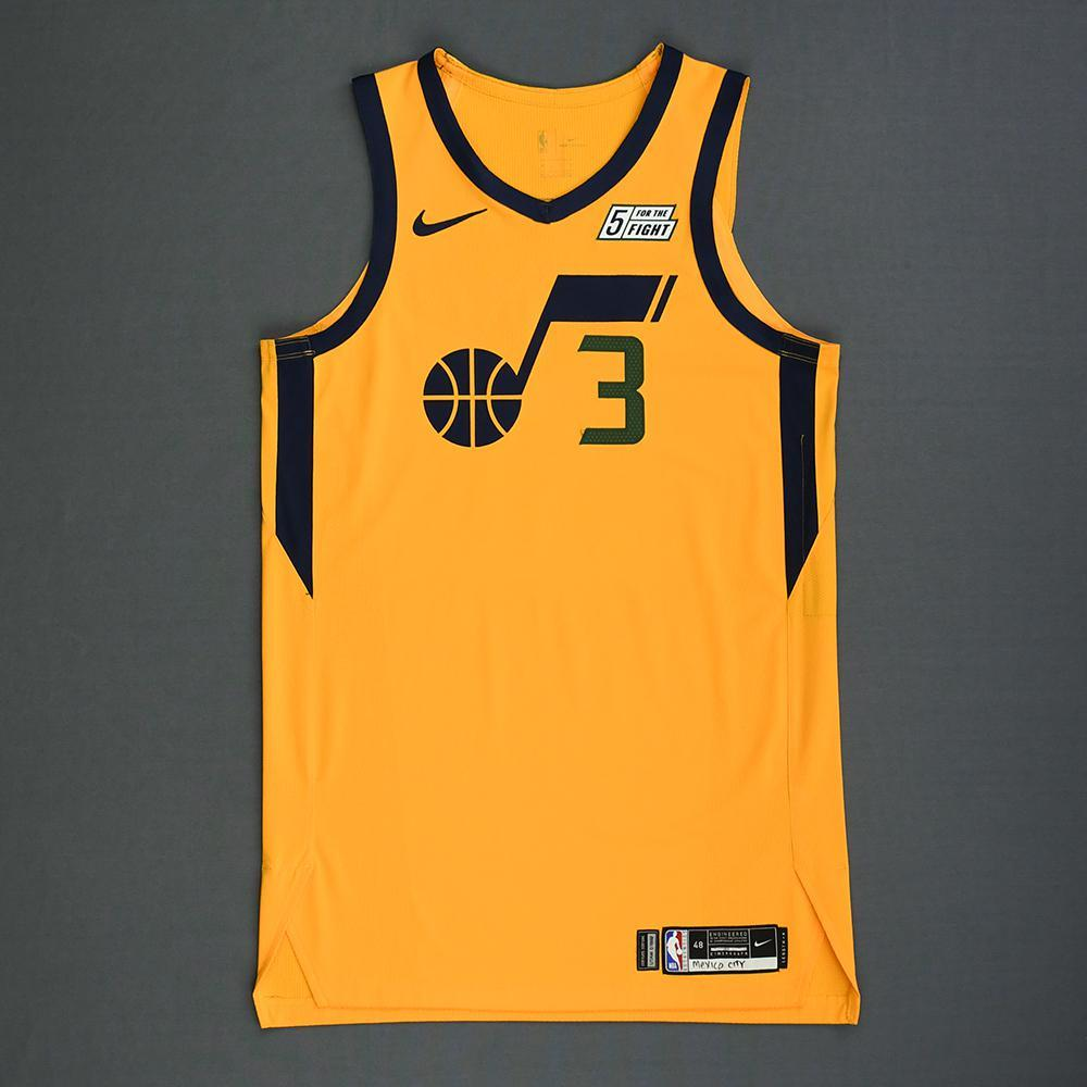 newest 4fd9e 5a7c0 Ricky Rubio - Utah Jazz - Mexico Games - Game-Worn Statement ...