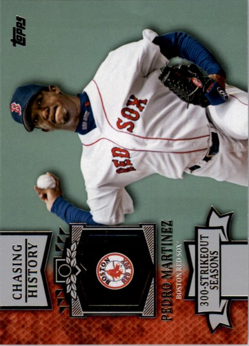 Photo of 2013 Topps Chasing History #CH119 Pedro Martinez