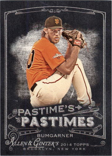 Photo of 2014 Topps Allen and Ginter The Pastime's Pastime #PPMB Madison Bumgarner