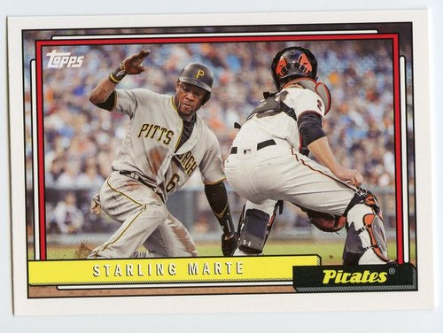 Photo of 2017 Topps Archives #211 Starling Marte