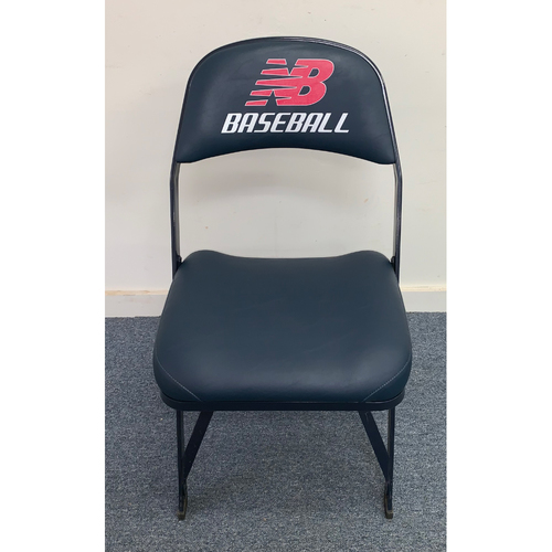 Felix Hernandez Game Used August 23, 2014 Fenway Park Visitor's Clubhouse Chair