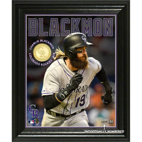 Photo of Charlie Blackmon Elite Series Bronze Coin Photo Mint