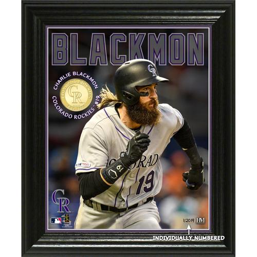 Photo of Charlie Blackmon Elite Series Bronze Coin Photo Mint