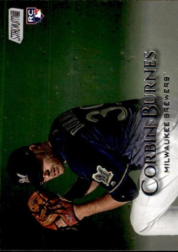 Photo of 2019 Stadium Club #104 Corbin Burnes RC