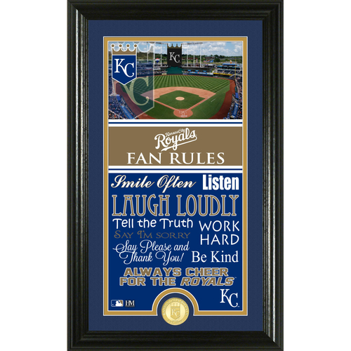 Photo of Kansas City Royals Fan Rules Supreme Bronze Coin Photo Mint