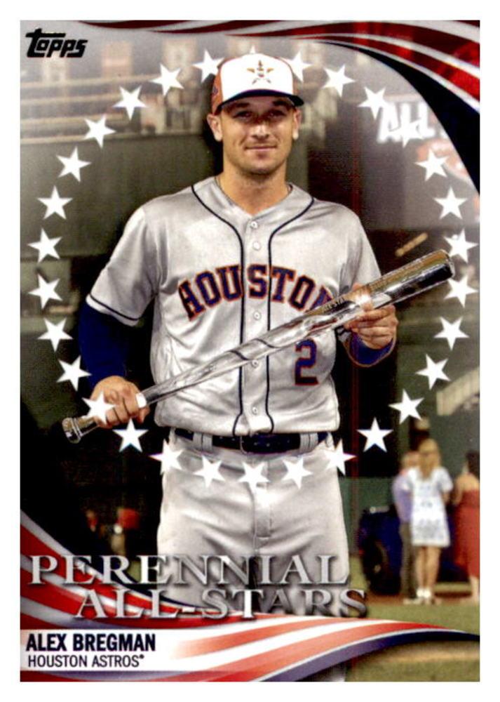 2019 Topps Update Perennial All Stars #PAS49 Alex Bregman