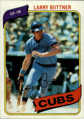 Photo of 1980 Topps #639 Larry Biittner